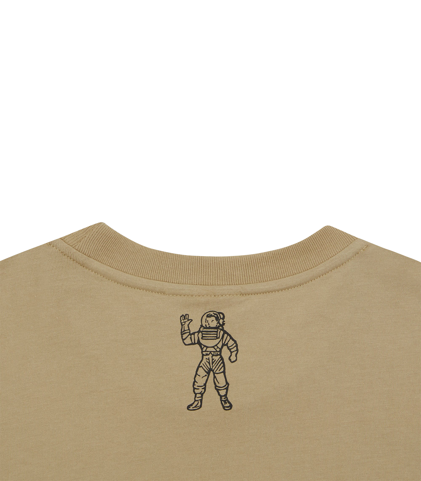 MILITARY PATCH GRAPHIC T-SHIRT - SAND