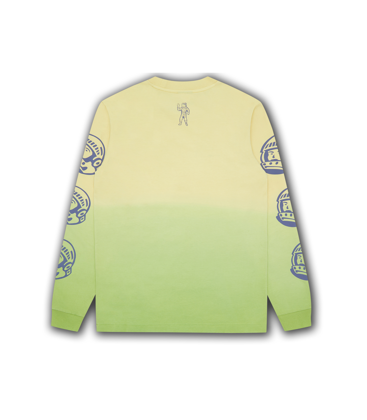 DIP DYE EFFECT L/S T-SHIRT - LIME