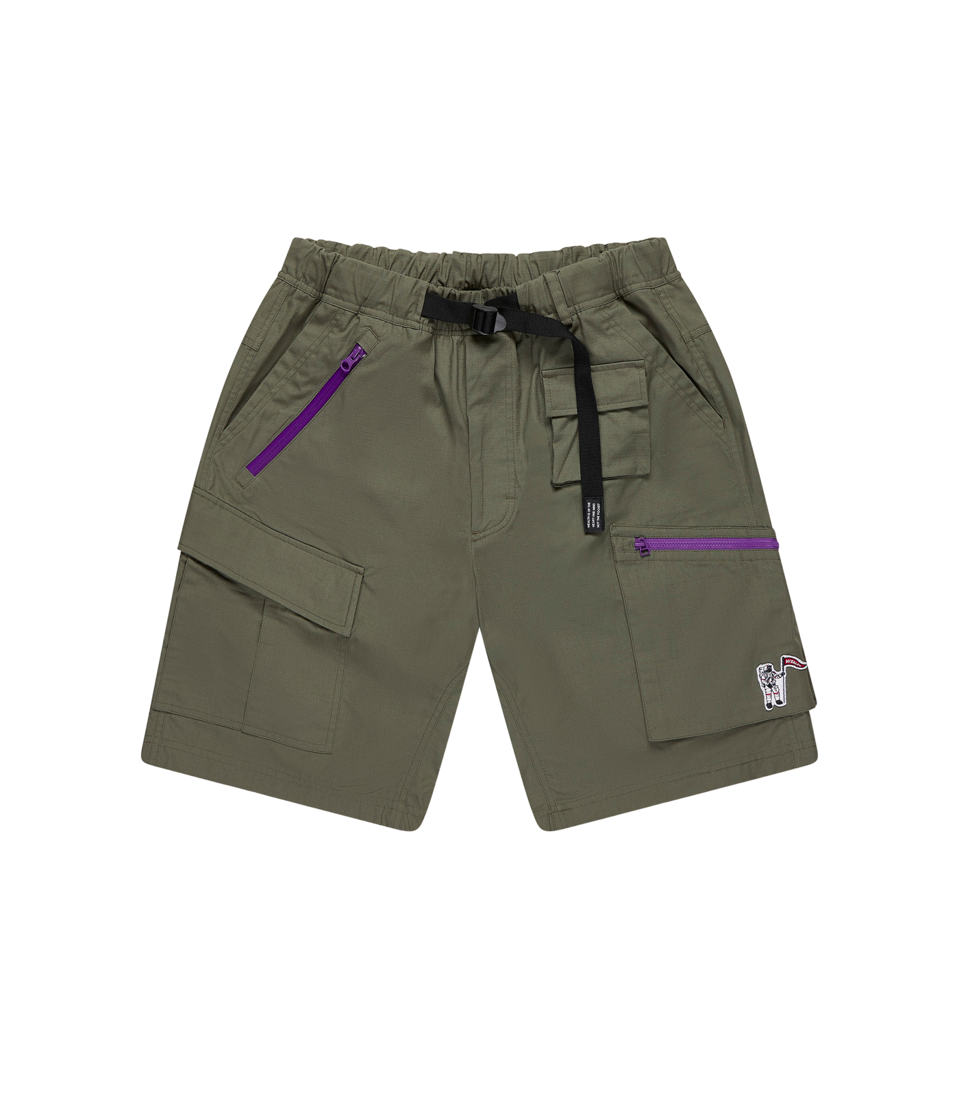 MULTI POCKET CLIMBING SHORTS - KHAKI