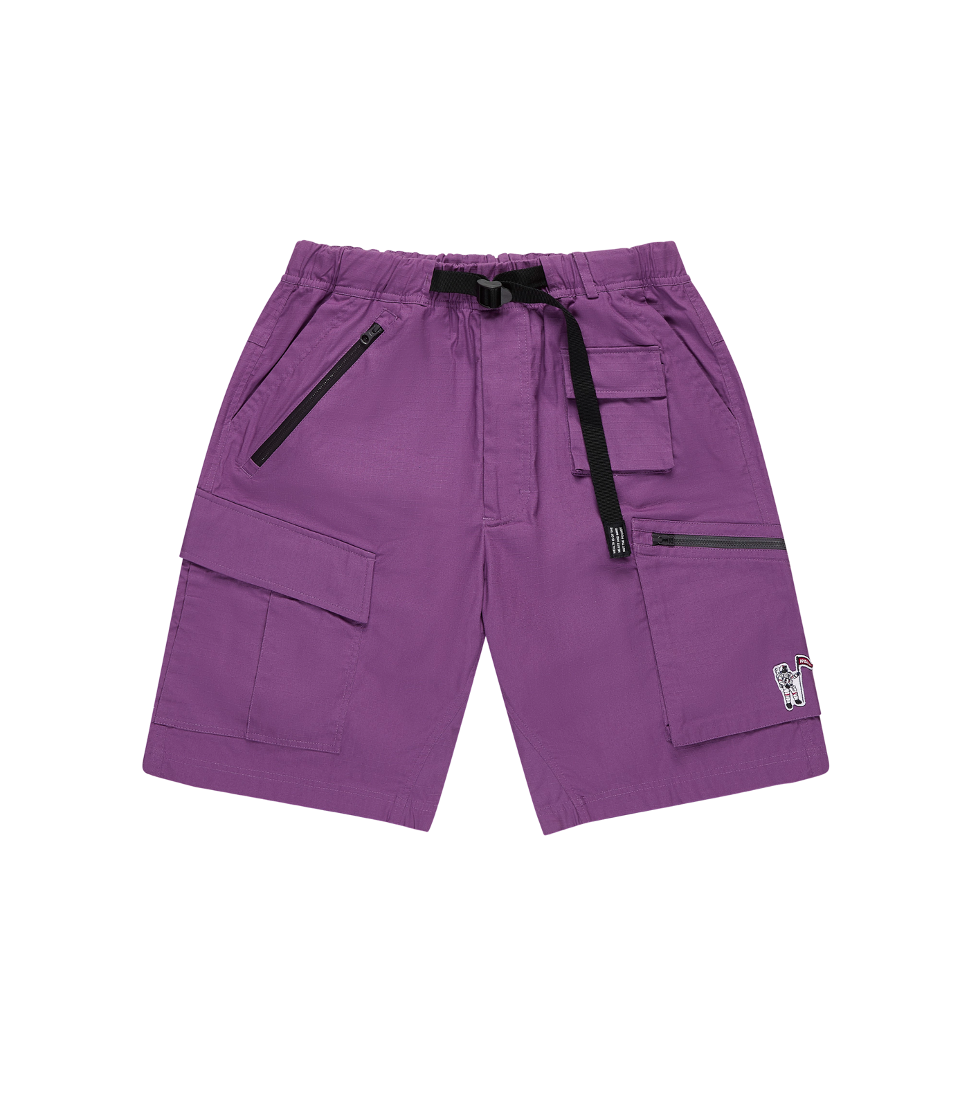MULTI POCKET CLIMBING SHORTS - PURPLE