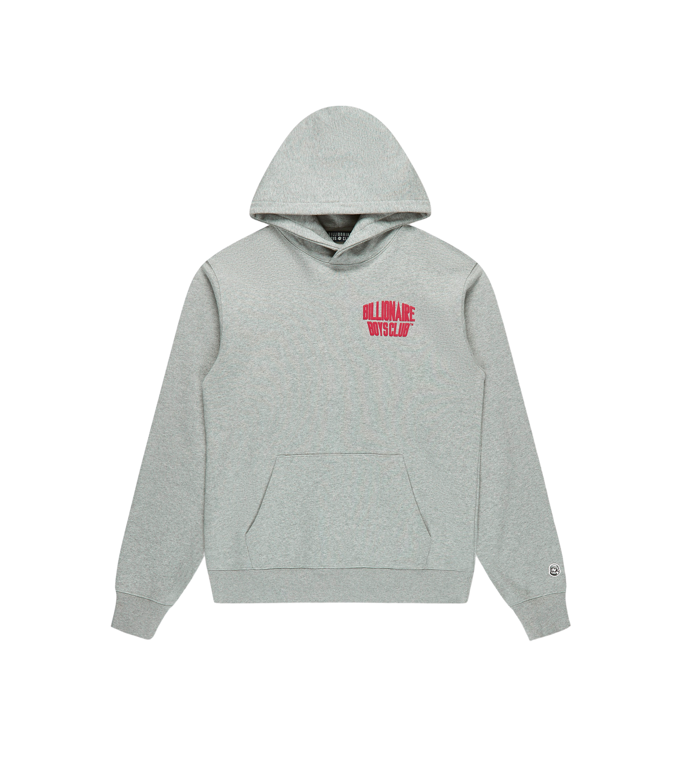 MOUNTAIN LOGO POPOVER HOOD - GREY