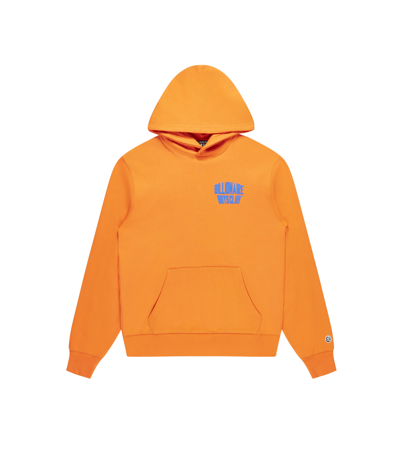 MOUNTAIN LOGO POPOVER HOOD - ORANGE