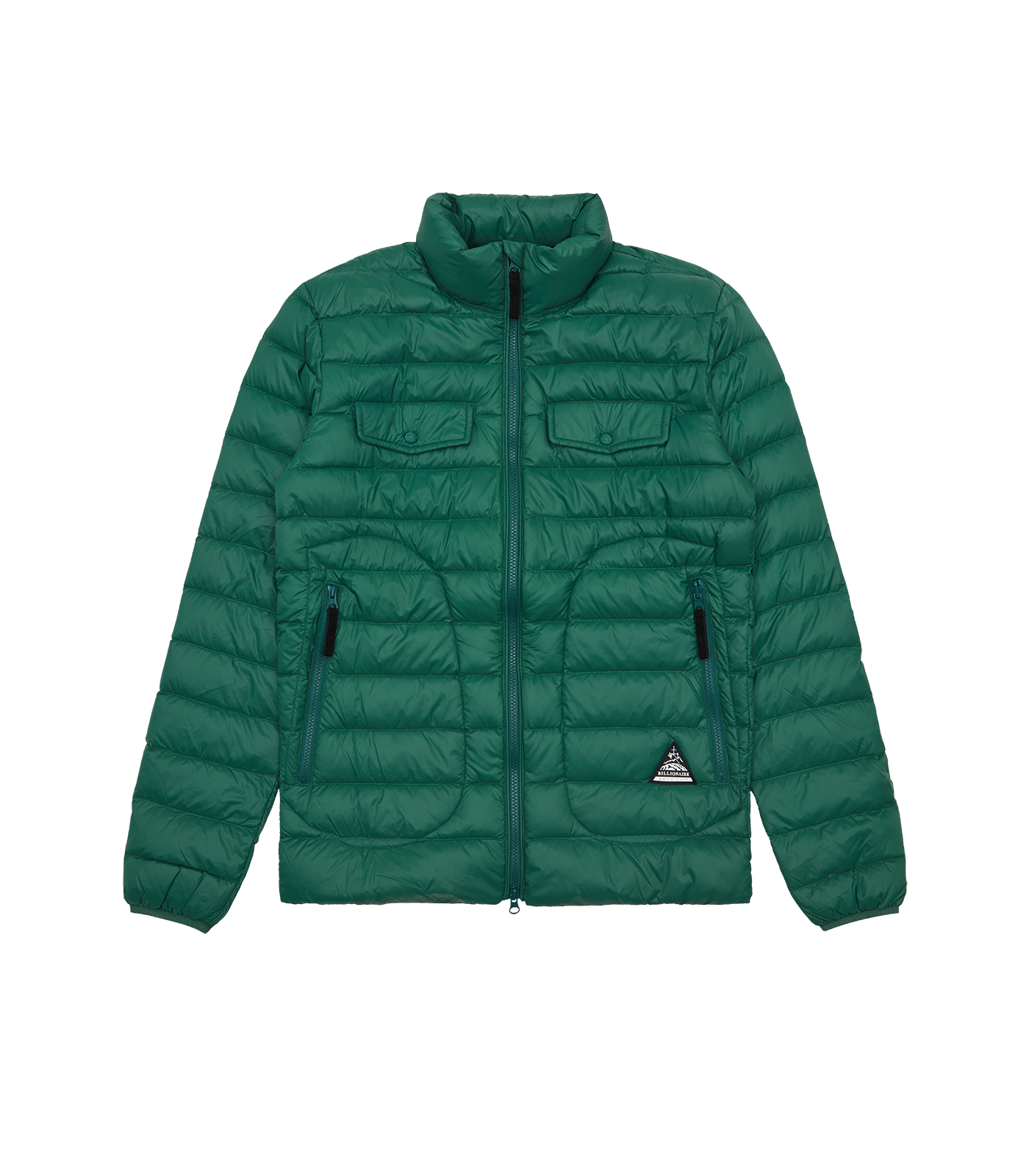 LIGHTWEIGHT DOWN JACKET - GREEN