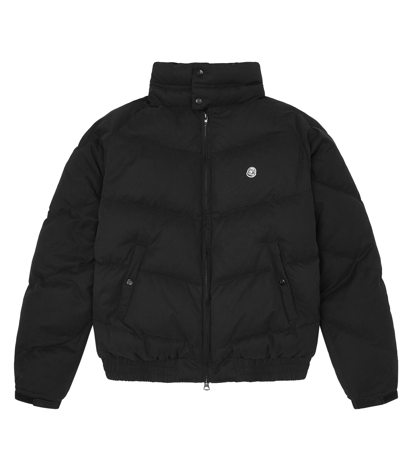 CLASSIC SOFT SHELL DOWN JACKET - BLACK
