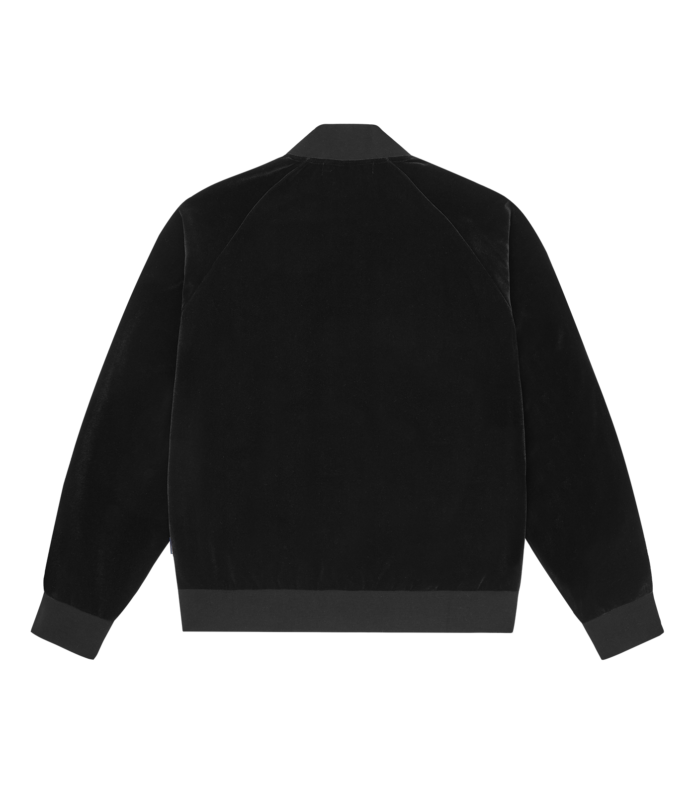 HEART & MIND TAPED TRACK TOP - BLACK