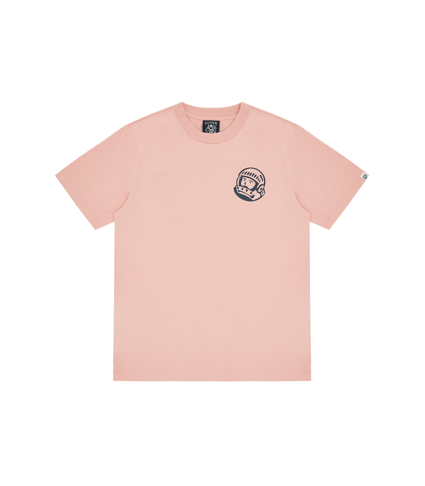 SMALL ASTRO HELMET LOGO T-SHIRT - CORAL