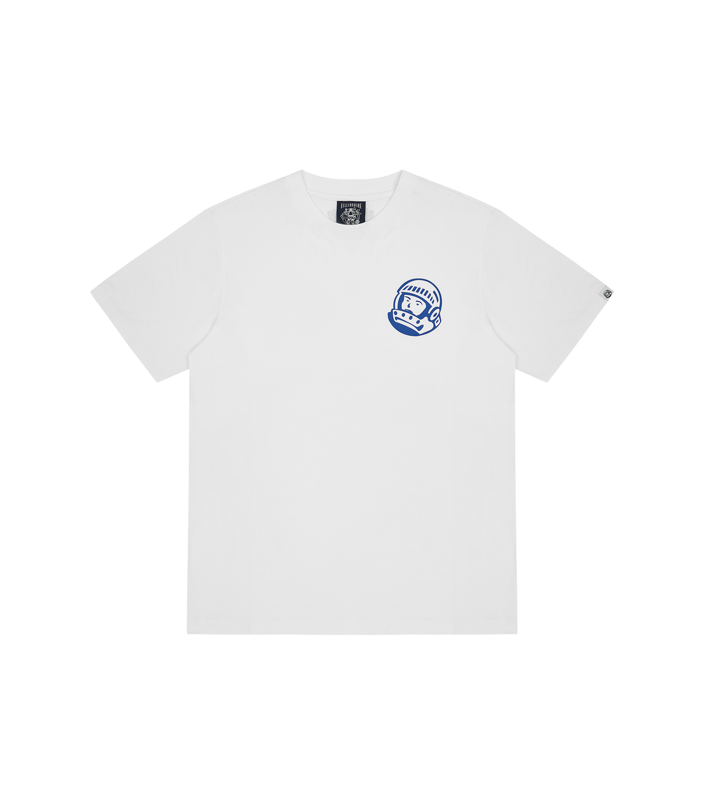 SMALL ASTRO HELMET LOGO T-SHIRT - WHITE