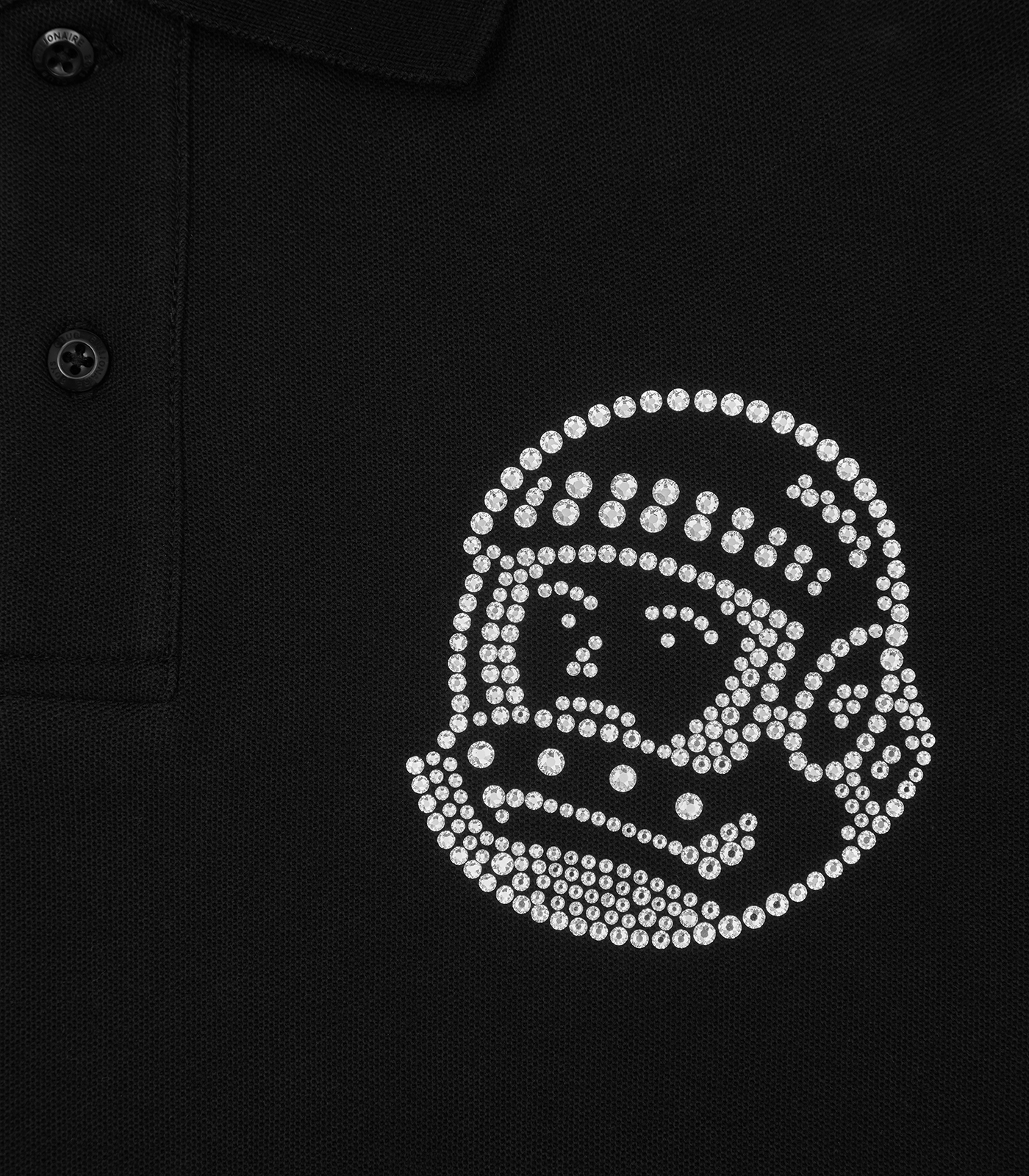 ASTRO HELMET POLO SHIRT embellished with Swarovski® Crystals