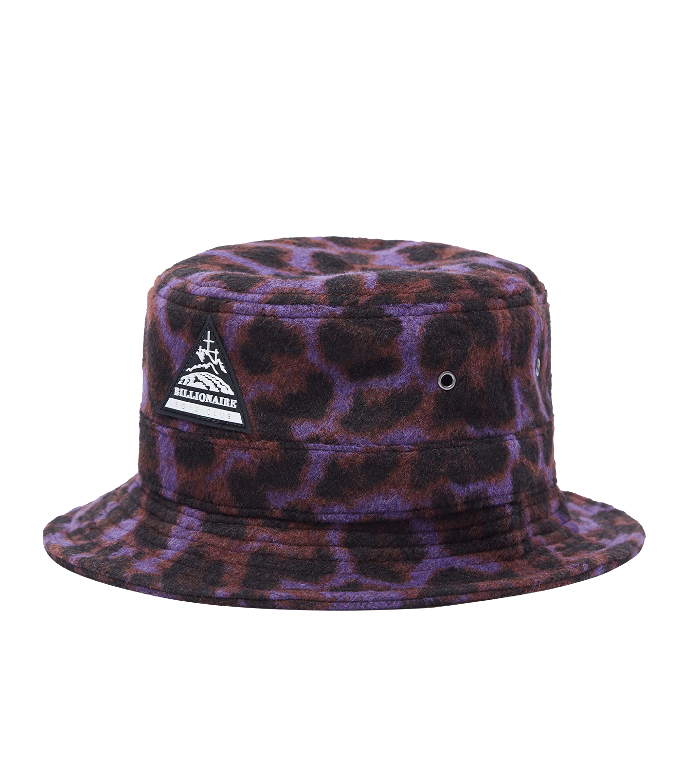 WOOL LEOPARD BUCKET HAT