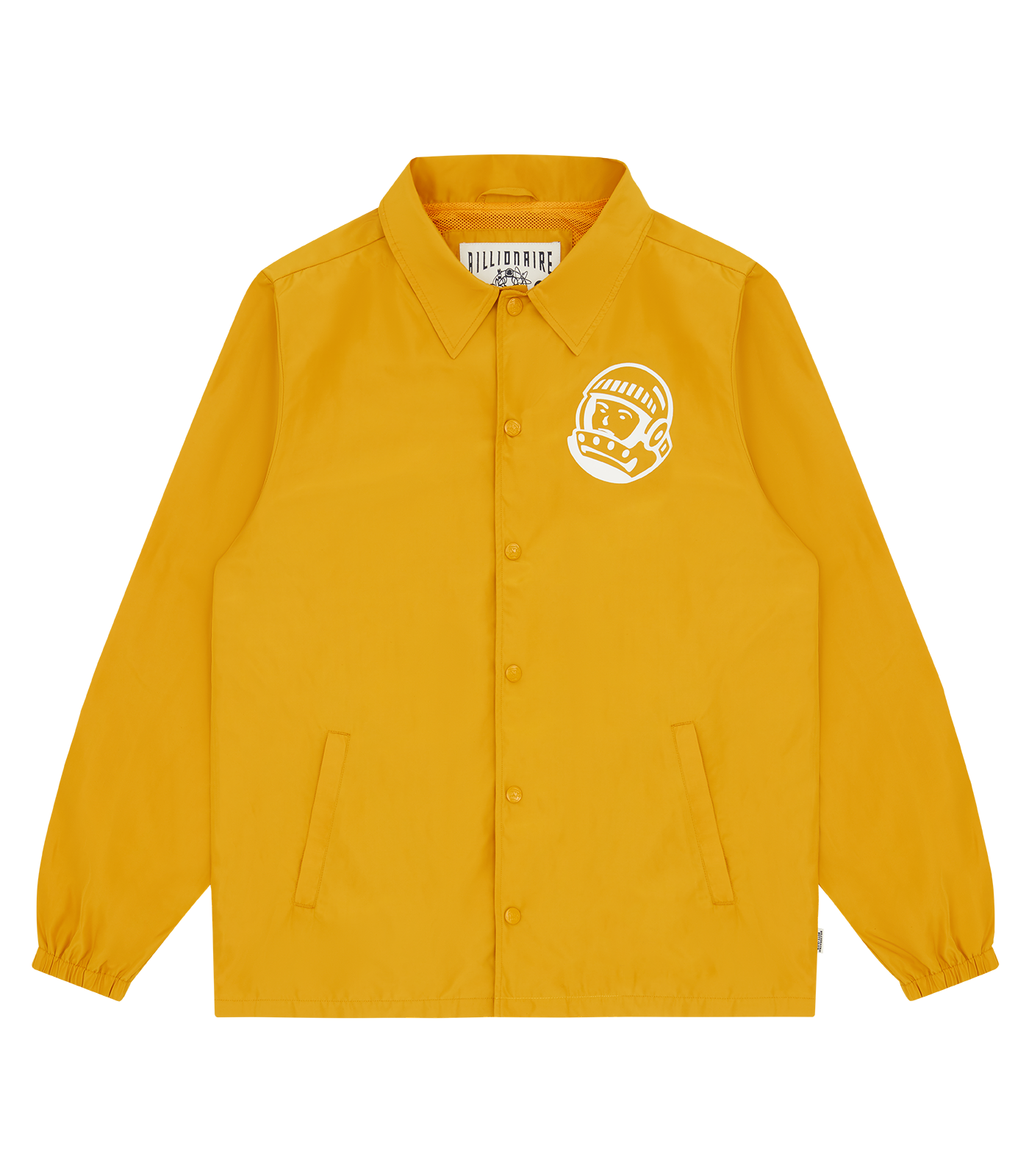 ASTRO HELMET COACH JACKET - YELLOW