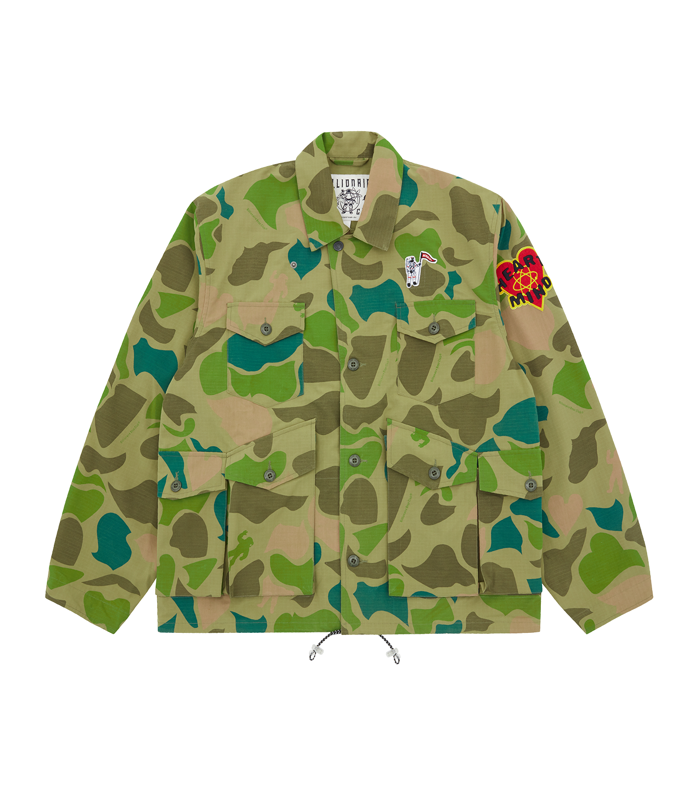 CAMO ALL OVER PRINT FIELD JACKET