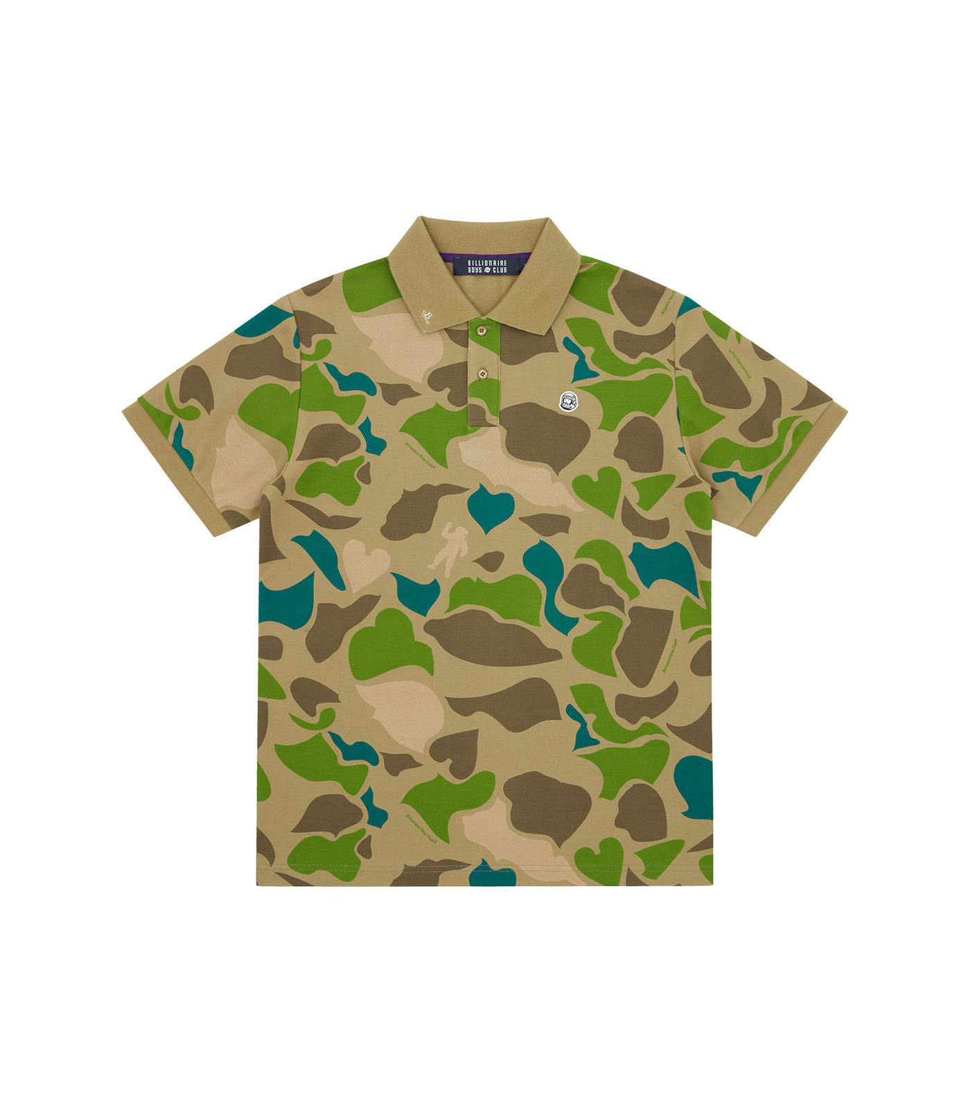 CAMO ALL OVER PRINT POLO SHIRT
