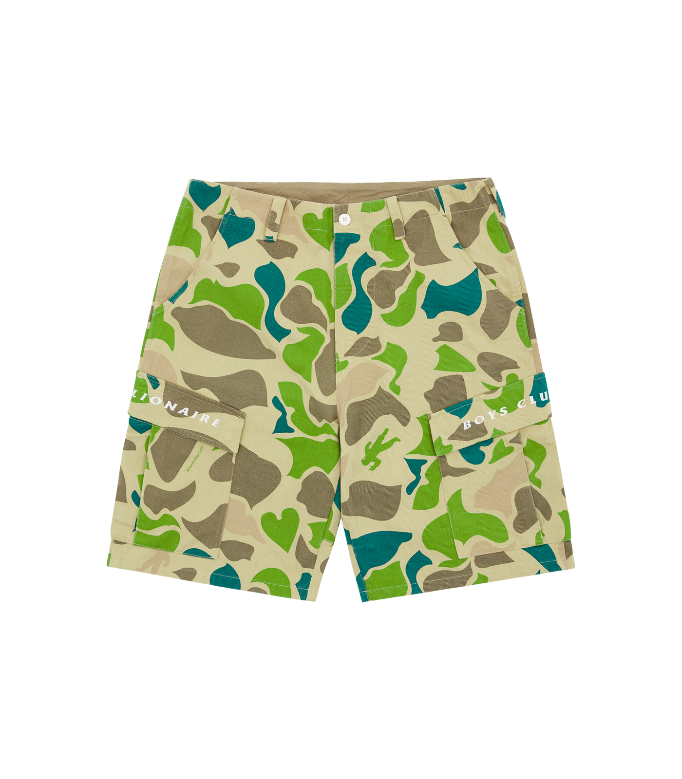 CAMO ALL OVER PRINT FIELD SHORTS