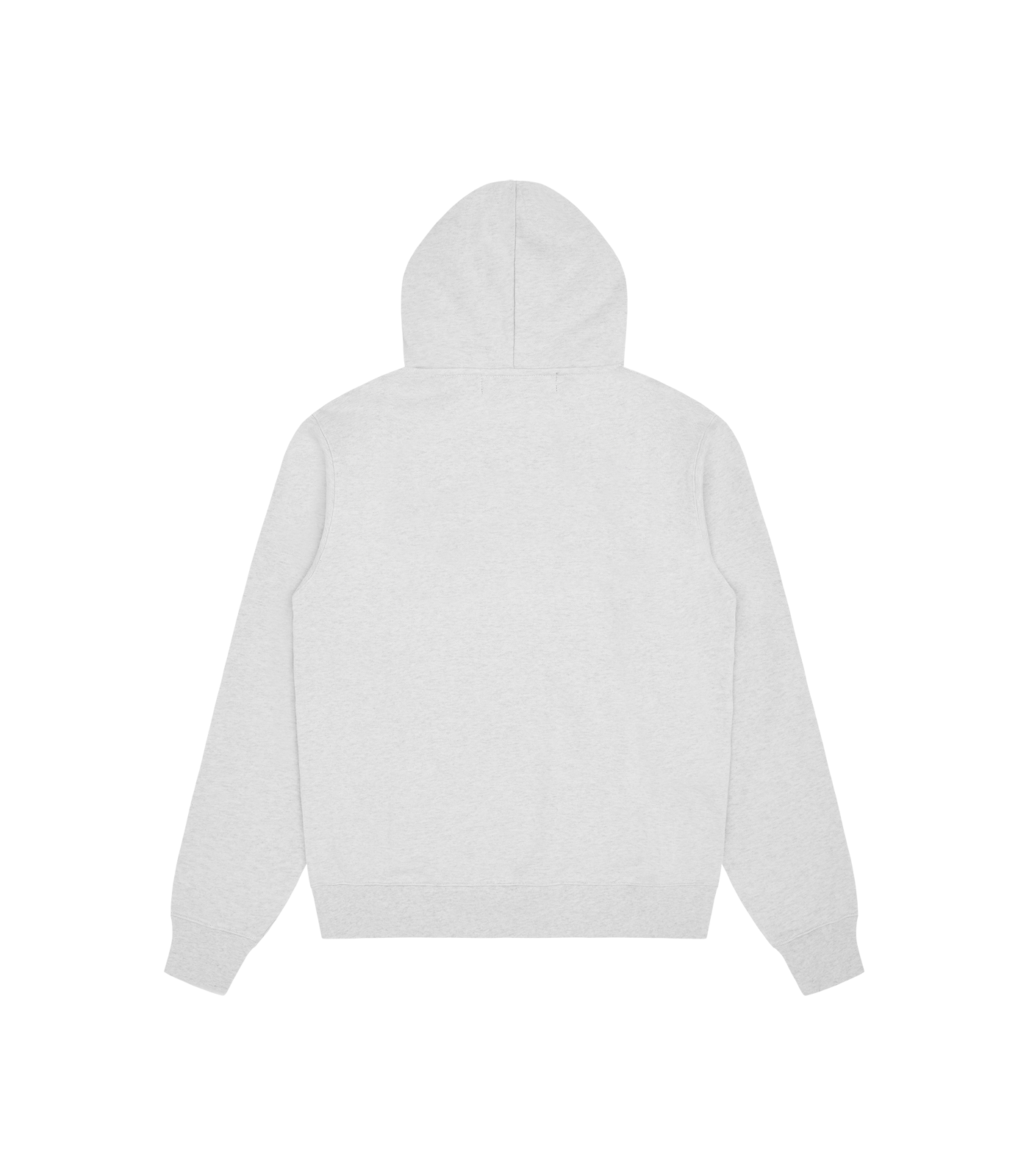 ARCH LOGO POPOVER HOOD - WHITE MARL