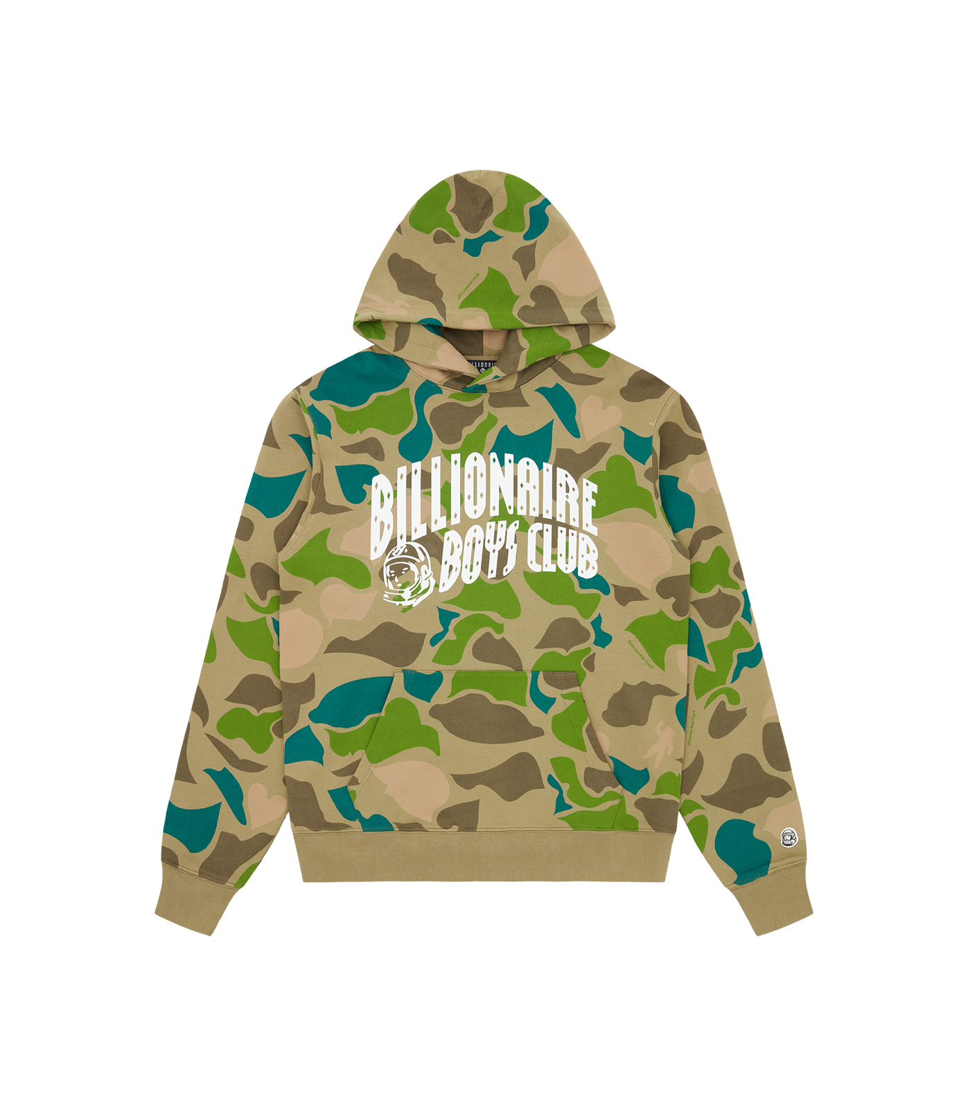 CAMO ALL OVER ARCH LOGO POPOVER HOOD