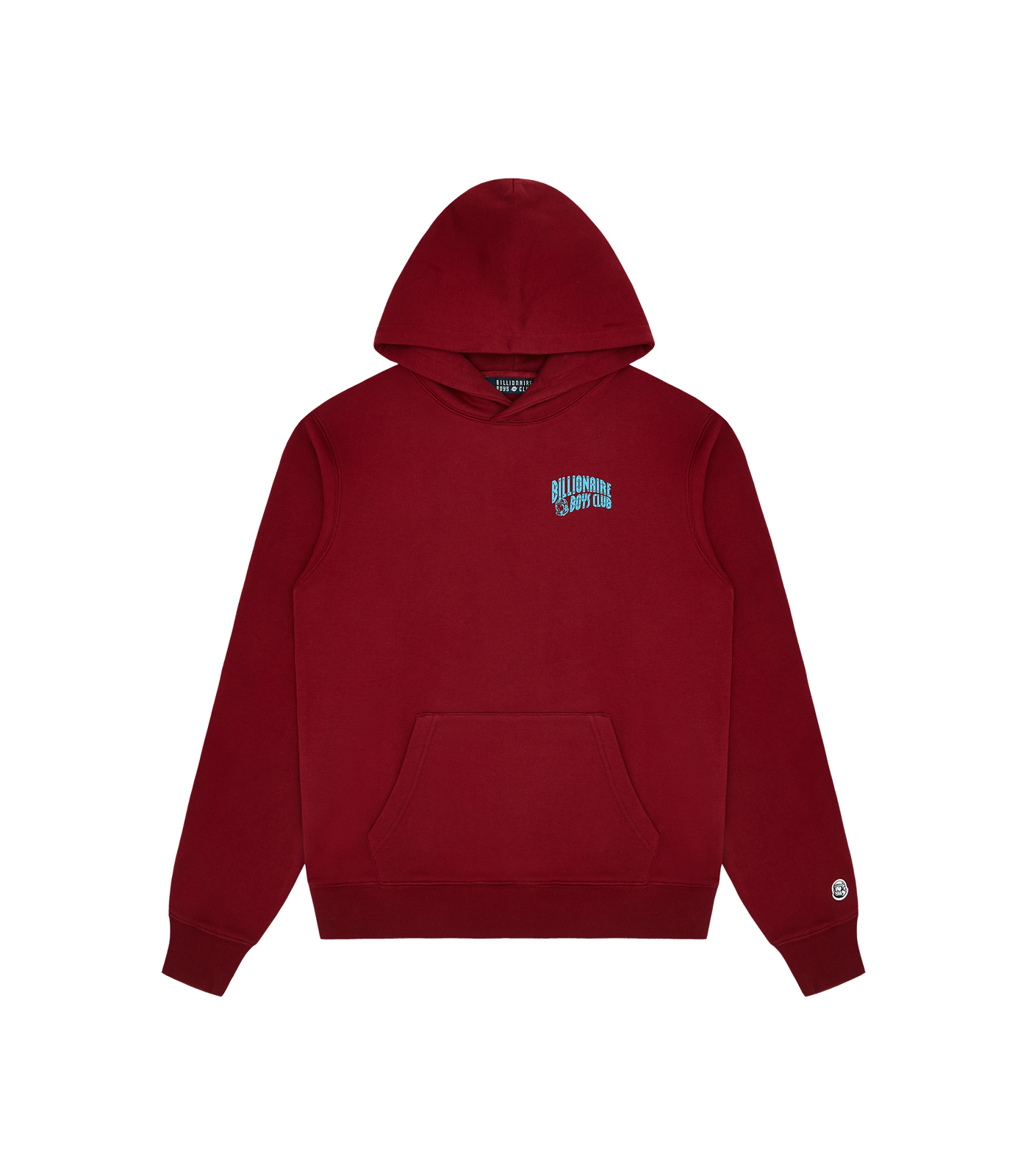 SPACE COWBOY POPOVER HOOD - DARK RED