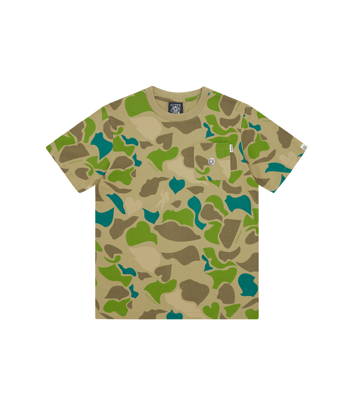 ALL OVER PRINT CAMO T-SHIRT