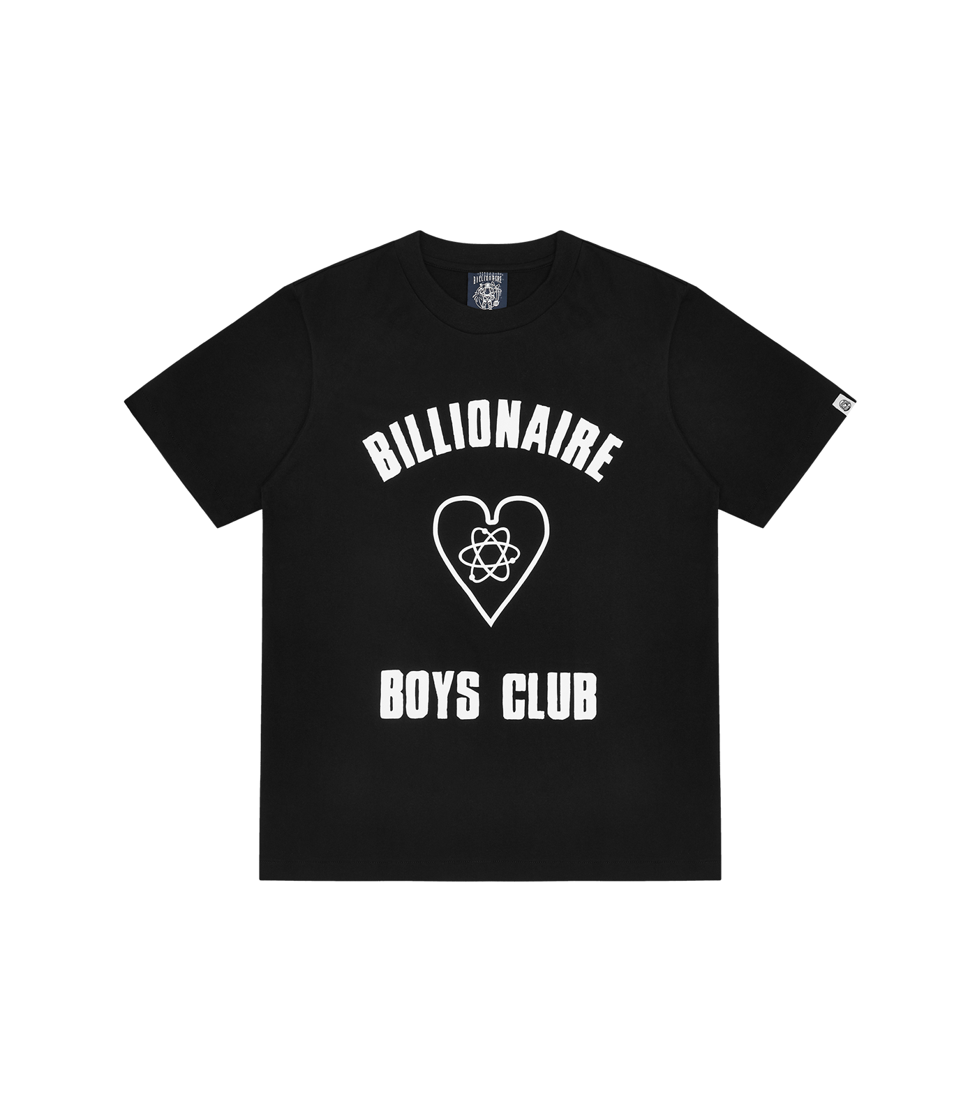 HEART LOGO T-SHIRT - BLACK
