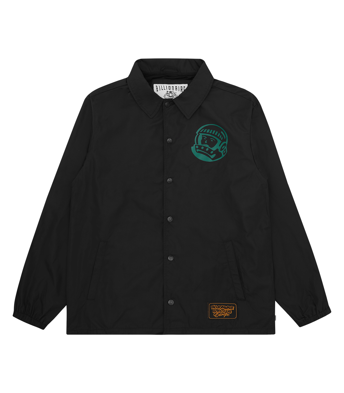ASTRO HELMET COACH JACKET - BLACK/GREEN