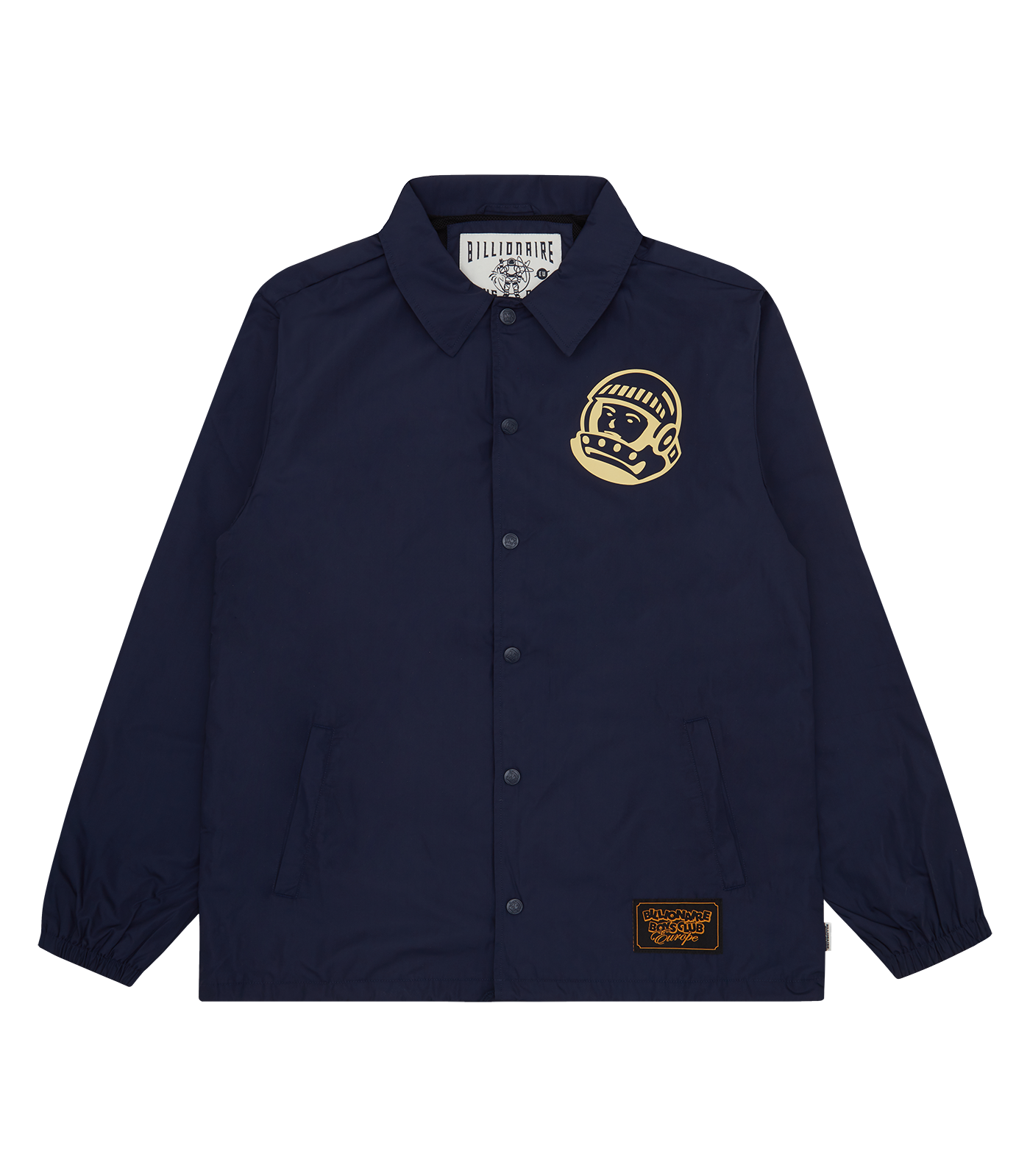 ASTRO HELMET COACH JACKET - NAVY/CREAM
