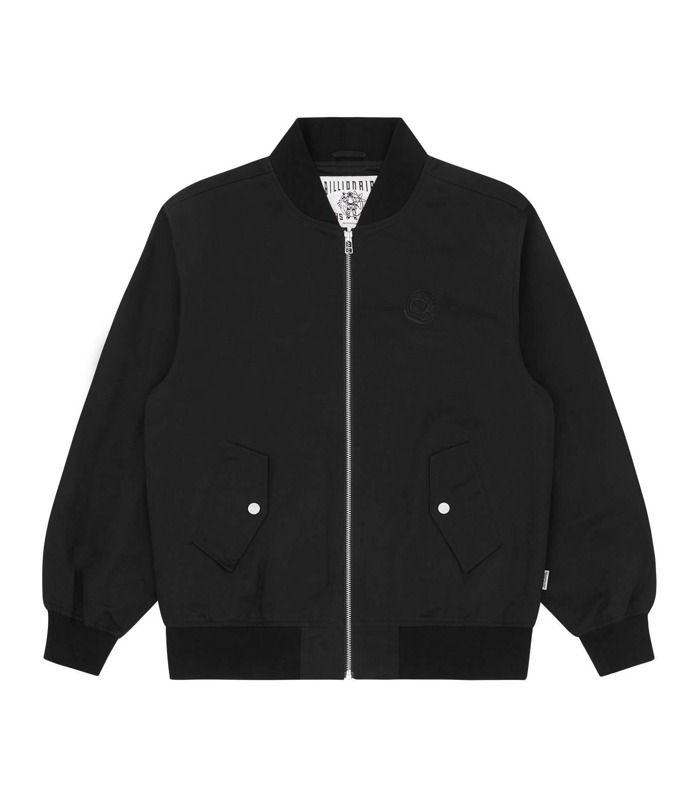 BUNNIES BOMBER JACKET - BLACK