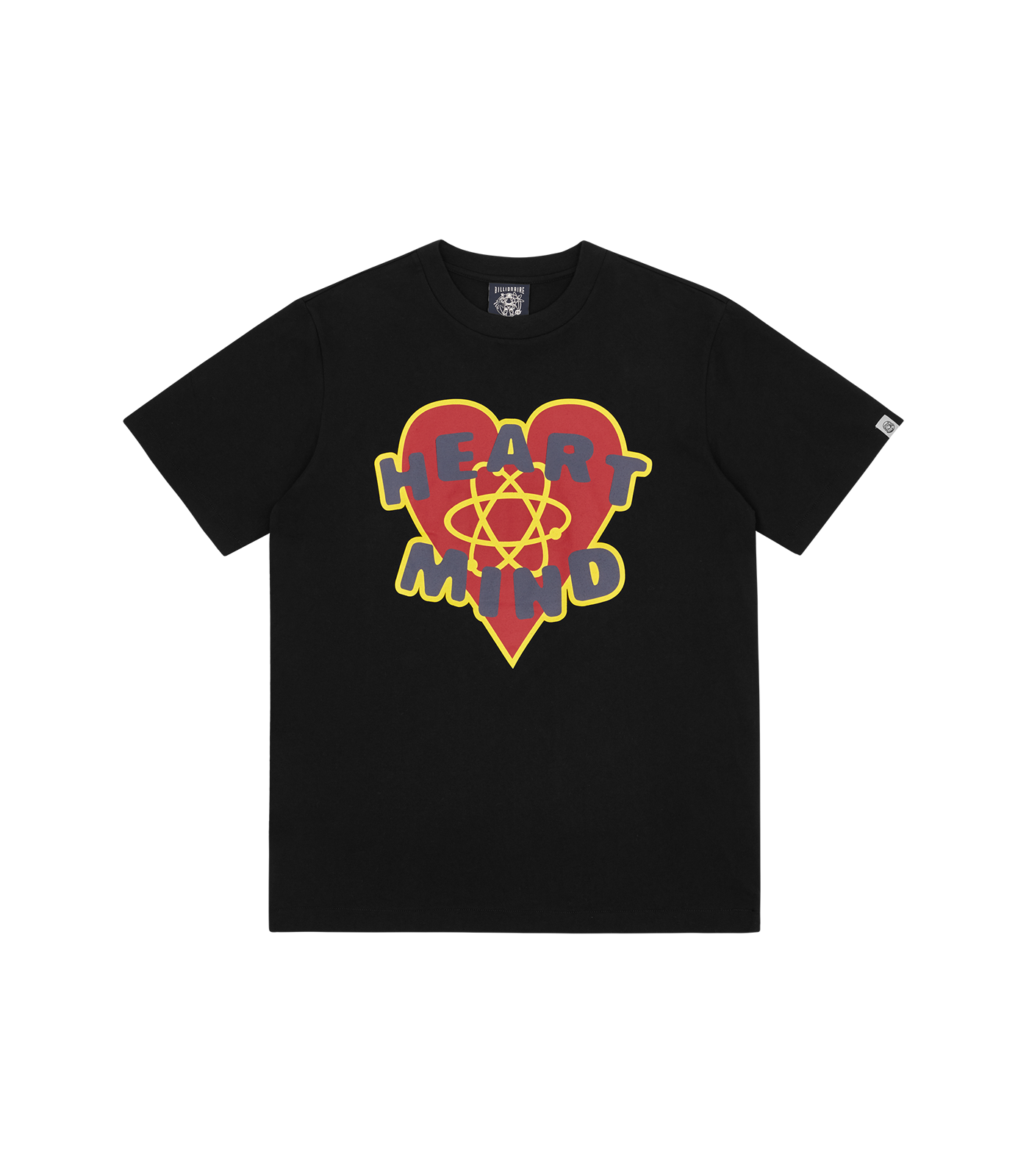 HEART & MIND GRAPHIC T-SHIRT - BLACK