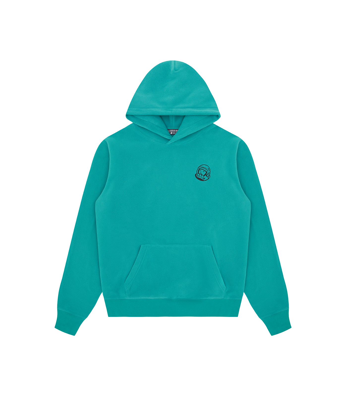 HELMET FLEECE POPOVER HOOD - TEAL