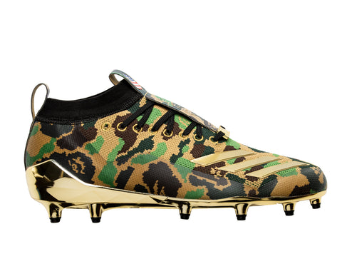 ADIDAS & BAPE CLEATS BAPE - GREEN CAMO