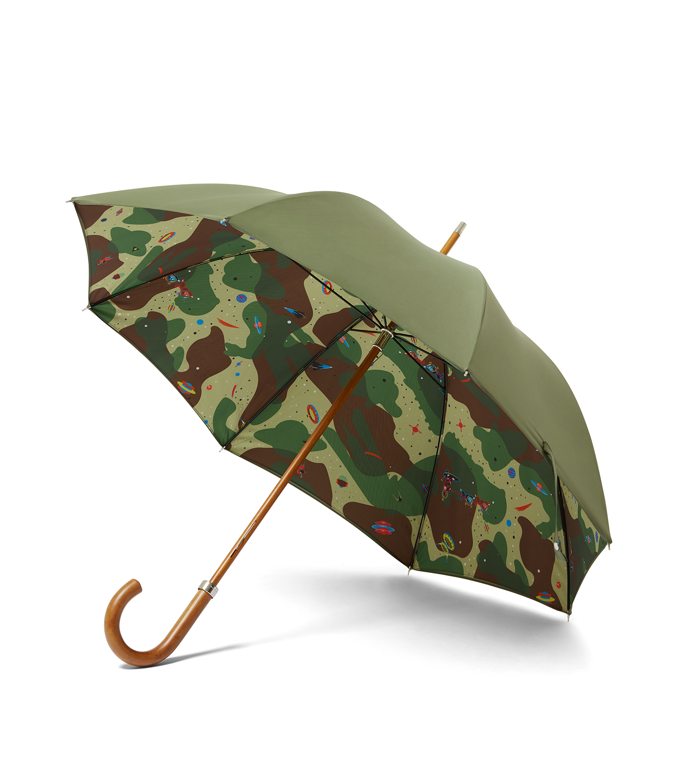 LONDON UNDERCOVER SPACE CAMO LUX UMBRELLA