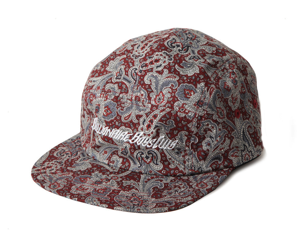 Billionaire Boys Club PAISLEY CAMPER HAT - RED