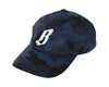 Billionaire Boys Club FLYING B CAMO STRAPBACK HAT - BLUE