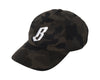 Billionaire Boys Club FLYING B CAMO STRAPBACK HAT - GREY