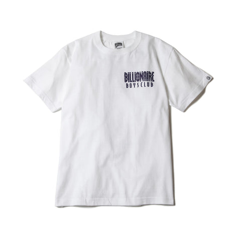 BBCICECREAM STARFIELD HELMET BACKPRINT T-SHIRT WHITE