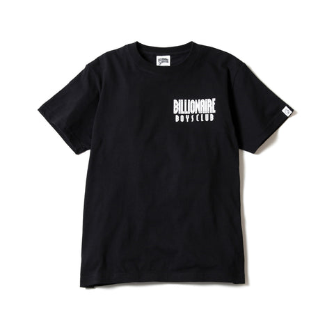BBCICECREAM STARFIELD HELMET BACKPRINT T-SHIRT BLACK