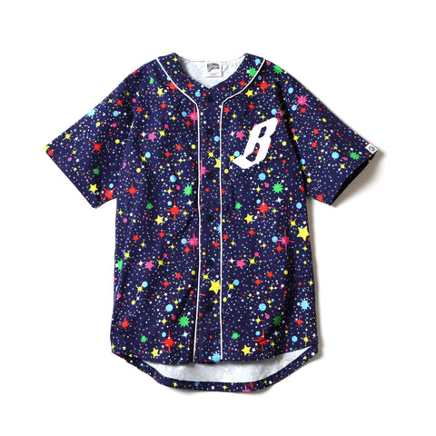 Billionaire Boys Club STARFIELD BASEBALL SHIRT