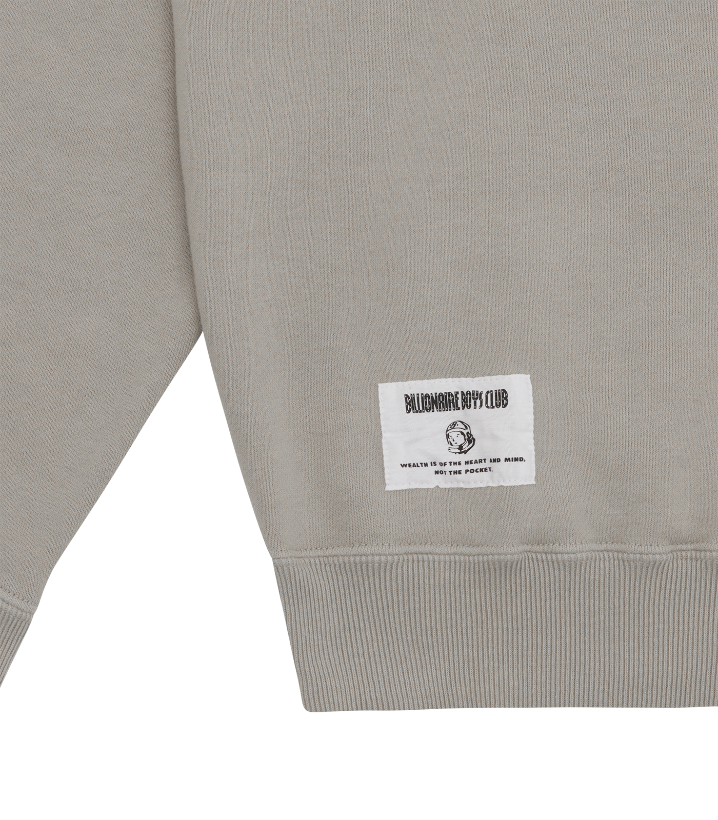 SNOOPY OVERDYED CREWNECK - GREY