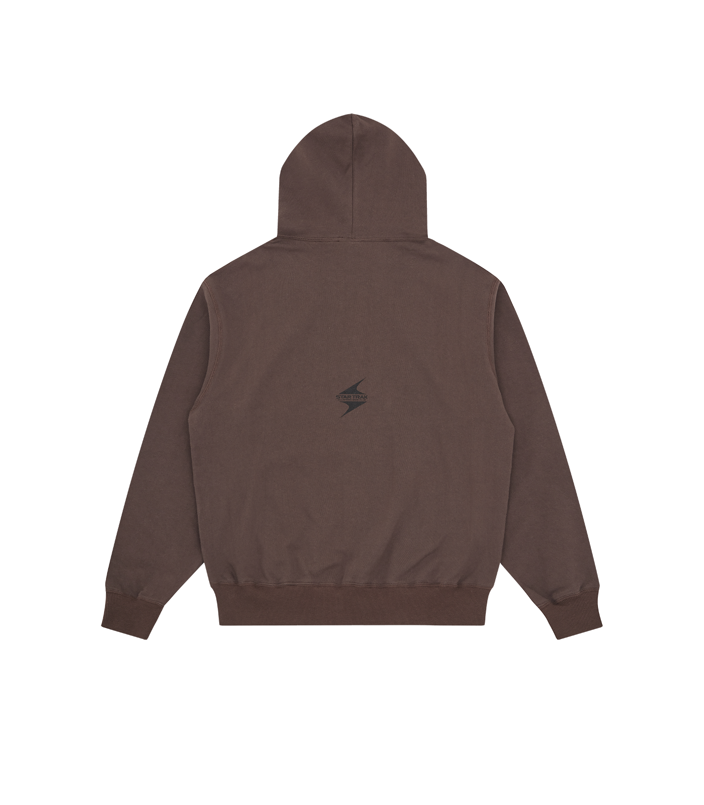 STARTRAK LOGO POPOVER HOOD - BROWN