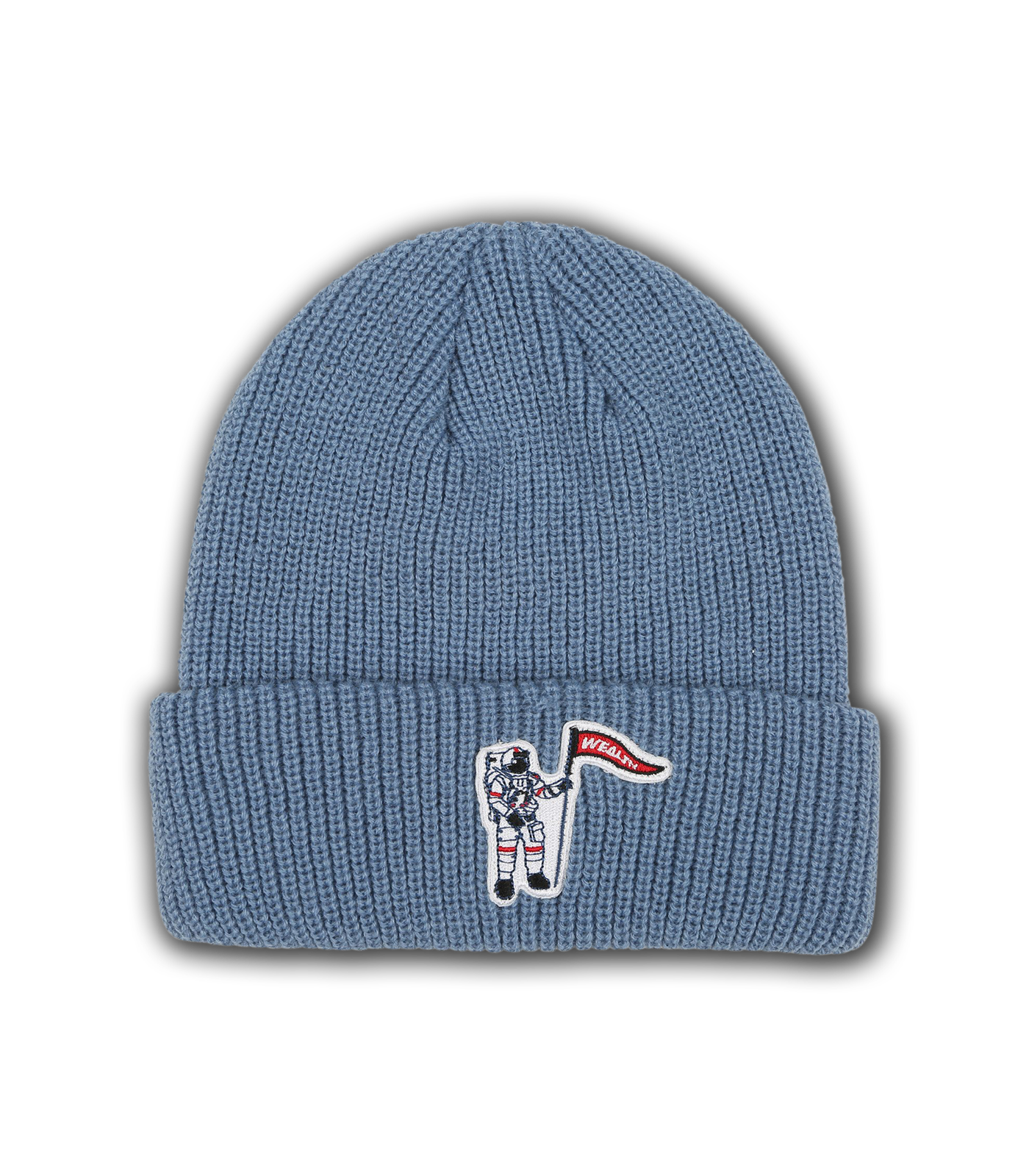 WEALTH PATCH BEANIE - TEAL