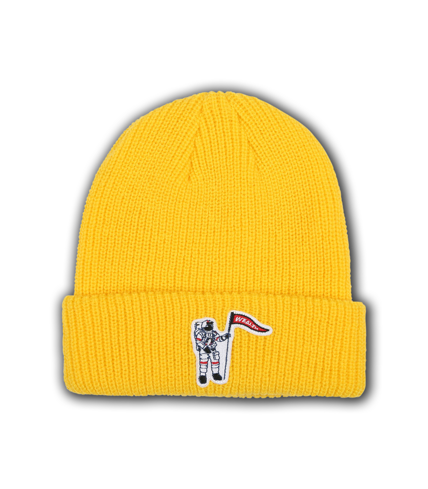 WEALTH PATCH BEANIE - YELLOW