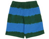 Billionaire Boys Club Pre-Fall '18 BLEACH STRIPED SHORT - GREEN