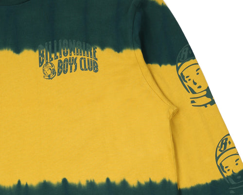 BLEACH STRIPED L/S T-SHIRT - YELLOW