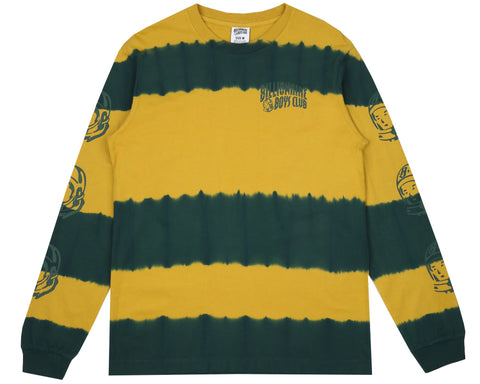 Billionaire Boys Club Pre-Fall '18 BLEACH STRIPED L/S T-SHIRT - YELLOW