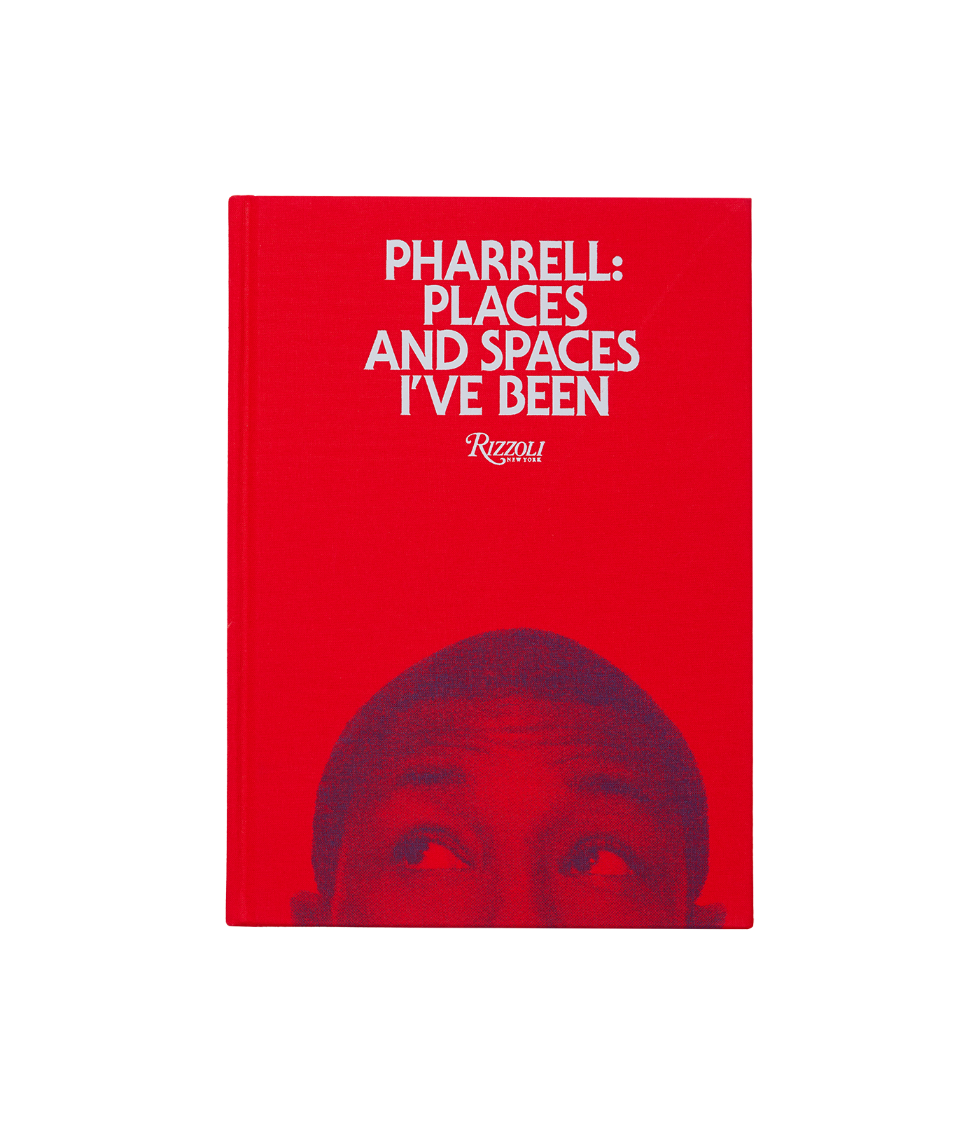 Pharrell: Places and Spaces I've Been Book - Red