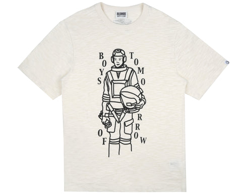 Billionaire Boys Club Pre-Spring '19 BOYS OF TOMORROW LOGO T-SHIRT - WHITE
