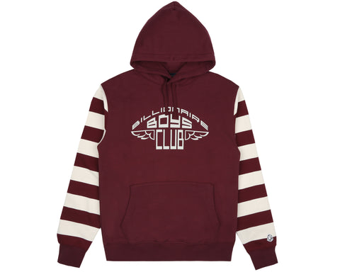 Billionaire Boys Club Pre-Spring '19 BUILT FOR THE FUTURE NOW POPOVER HOOD - BURGUNDY