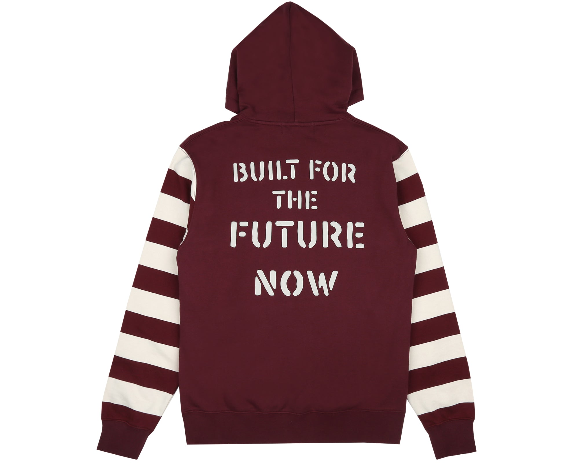 BUILT FOR THE FUTURE NOW POPOVER HOOD - BURGUNDY