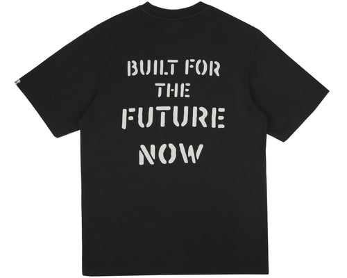 BUILT FOR THE FUTURE NOW T-SHIRT - BLACK