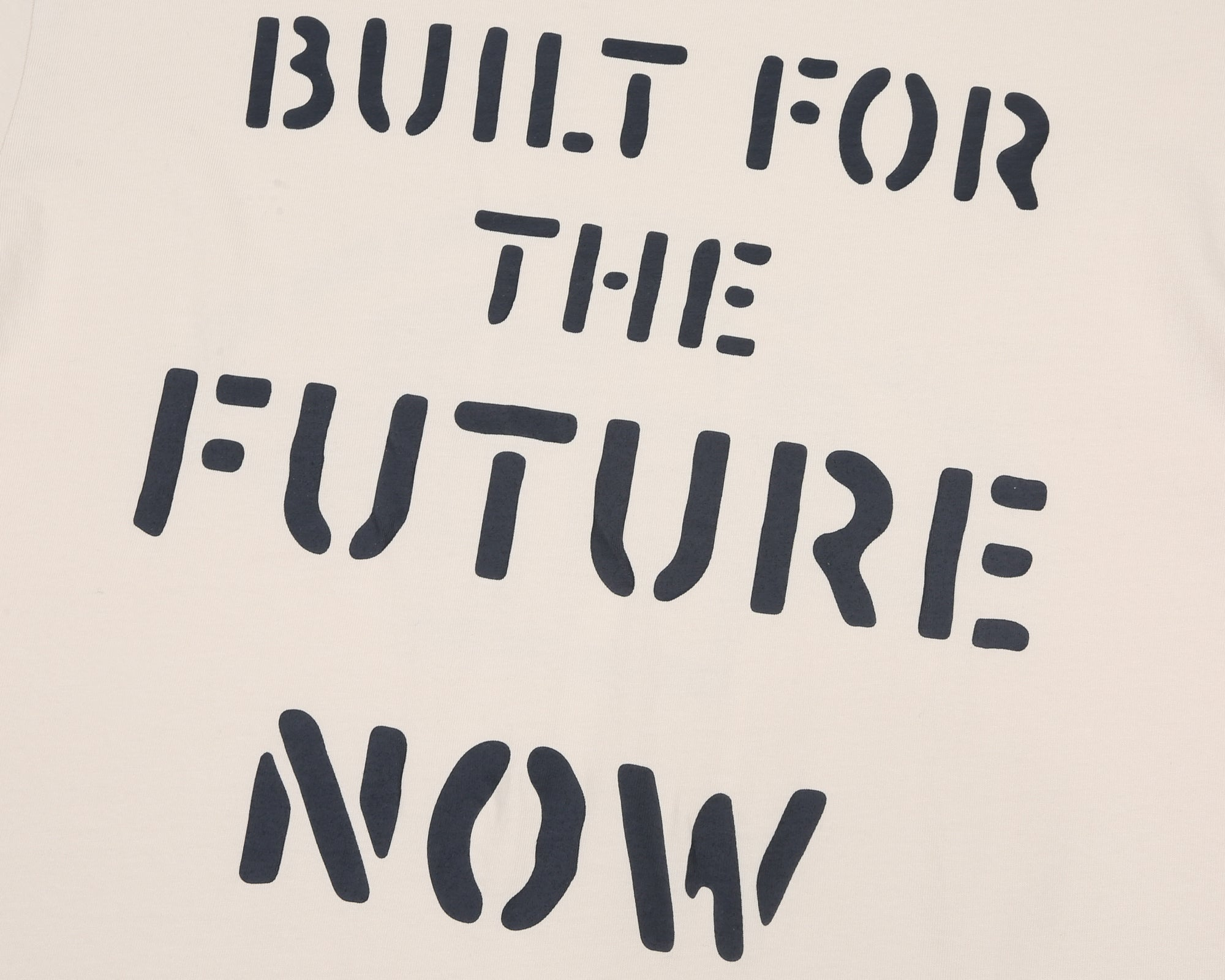 BUILT FOR THE FUTURE NOW T-SHIRT - BONE