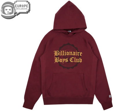 Billionaire Boys Club Fall '18 COLLEGE POPOVER HOOD - BURGUNDY