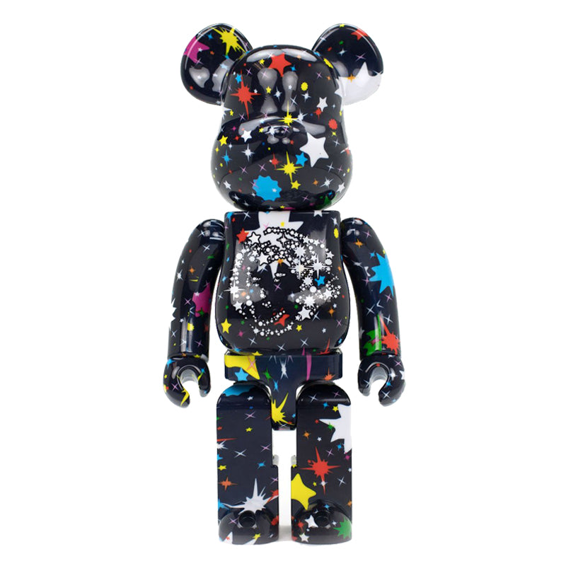MEDICOM BE@RBRICK BILLIONAIRE BOYS CLUB STARFIELD PACK 400% + 100%